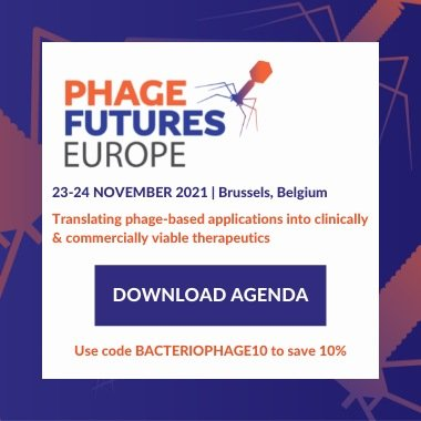 Bacteriophage.news Phages Futures Europe event 2021 Brussels Belgium